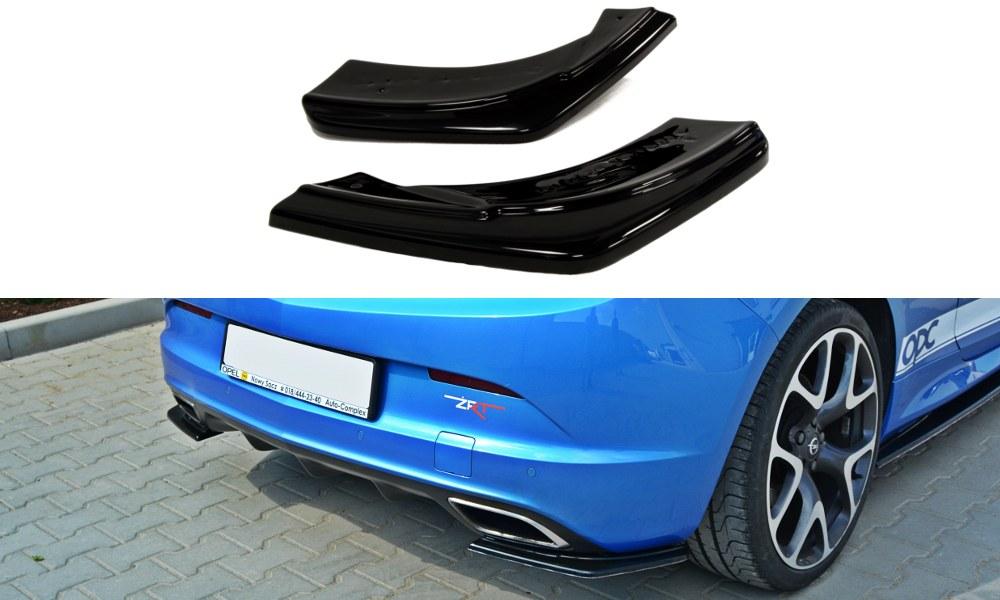 Splittery Tylne Boczne Opel Astra J OPC / VXR - GRUBYGARAGE - Sklep Tuningowy